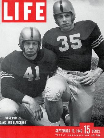 West Point Football Players Glenn Davis and Felix Blanchard, September 16, 1946