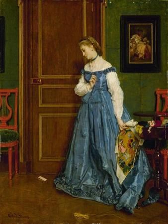 Hesitation, Possibly Madame Monteaux, C.1867
