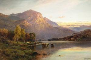 A View of Loch Lomond near Inversnaid, Scotland by Alfred Fontville de Breanski