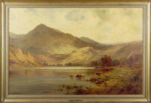 Lochearnhead by Alfred Fontville de Breanski