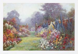 Summer Garden by Alfred Fontville de Breanski