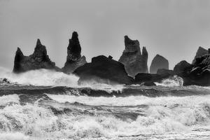 Stormy Beach by Alfred Forns