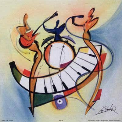 Blues Club II by Alfred Gockel