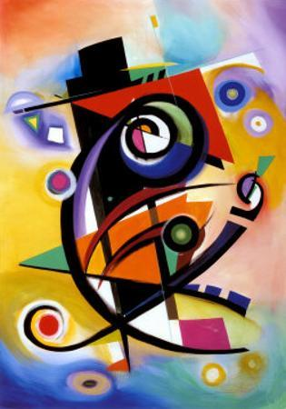 Homage to Kandinsky by Alfred Gockel