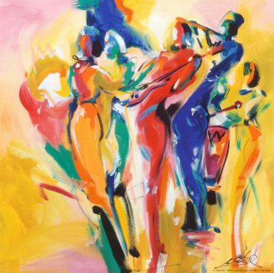 Jazz Explosion I by Alfred Gockel