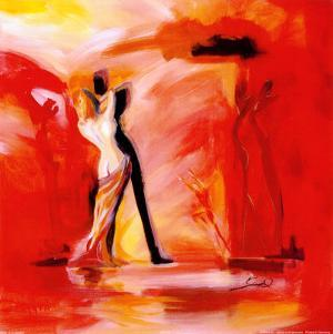 Romance in Red II by Alfred Gockel