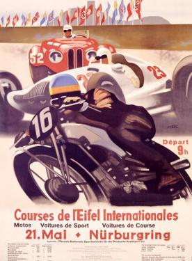 Course de l'Eifel Internationales by Alfred Hierl