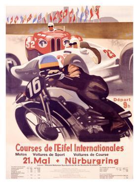 Course de l'Eifel Internationales by Alfred Hierl