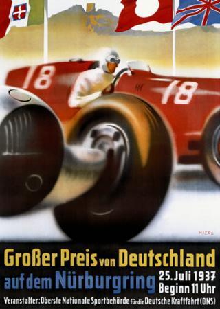 Grosser Preis von Deutschland by Alfred Hierl