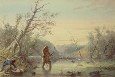 Trapping Beaver, 1858