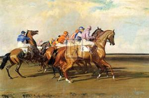 Under Starter's Orders by Alfred James Munnings
