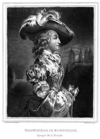Duchesse Montpensier by Alfred Johannot