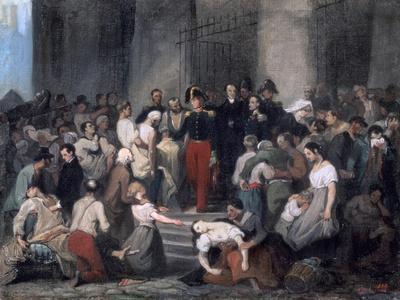 The Duke of Orleans ..During the Cholera Epidemic, C1830