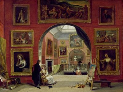 Interior of the Royal Institution, During the Old Master Exhibition, Summer 1832, 1833