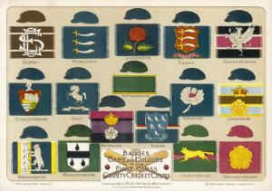 Badges Caps and Colours of English County Cricket Clubs by Alfred Lambert