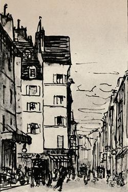 Rue De Seine, 1915 by Alfred Latour