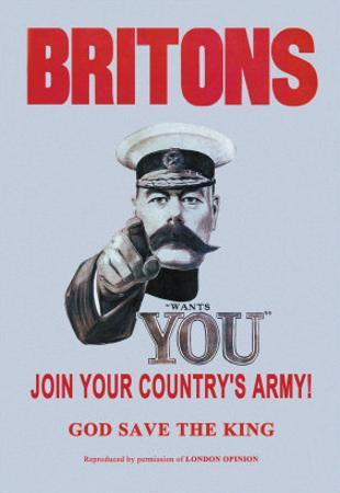 Britons: Join Your Country's Army
