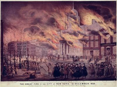 The Great Fire of New York, 1835