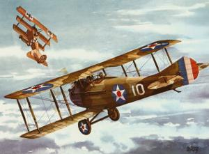 French Spad, 1916 by Alfred Owles