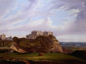 Nottingham Castle, England by Alfred Parker