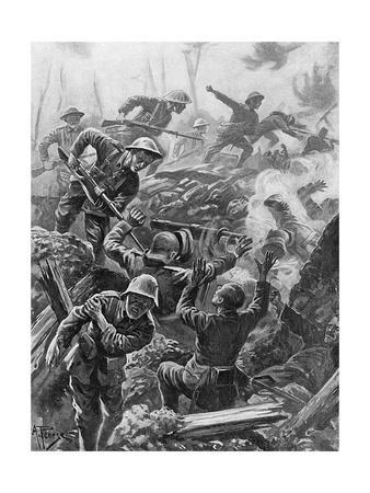 WWI, Heroic Act, Downie