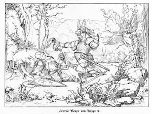 Conrad Bayer Von Boppard by Alfred Rethel