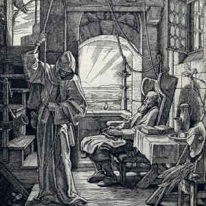 Death as Friend, 1851 by Alfred Rethel