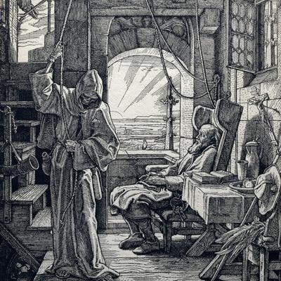 Death as Friend, 1851