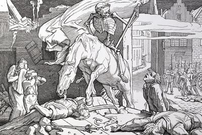 Death as Victor, from 'Another Dance of Death' Published by Georg Wigand in Leipzig, 1849