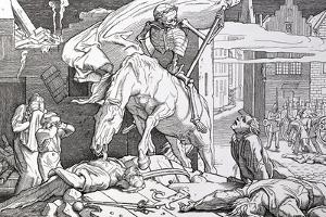 Death as Victor, from 'Another Dance of Death' Published by Georg Wigand in Leipzig, 1849 by Alfred Rethel