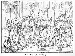 Emperor Henry IV at Bingen by Alfred Rethel