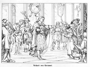 Richard of Cornwal by Alfred Rethel