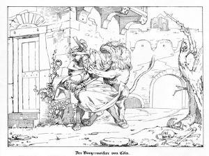 The Burgomaster of Cologne by Alfred Rethel