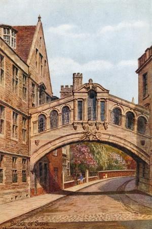 Bridge of Sighs, Hertford College, Oxford