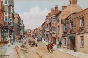 Broad Street, Lyme Regis by Alfred Robert Quinton