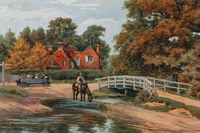 Brockley Water Splash, Brockenhurst by Alfred Robert Quinton