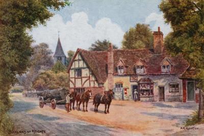 Buckland Near Reigate by Alfred Robert Quinton