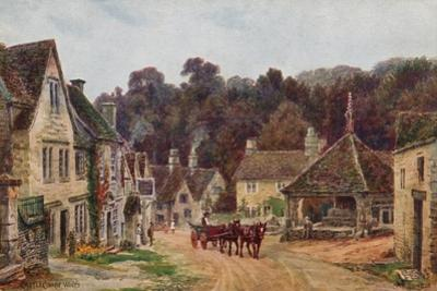 Castle Combe, Wiltshire by Alfred Robert Quinton