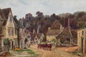 Castle Combe, Wiltshire by Alfred Robert Quinton