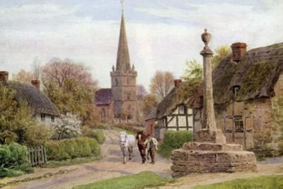 Childs Wickham, Near Evesham, Worcester by Alfred Robert Quinton