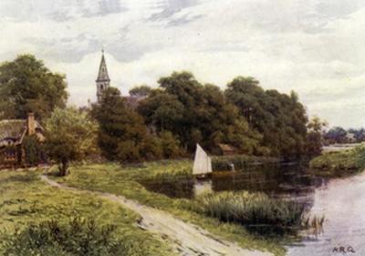 Clifton Hampden by Alfred Robert Quinton