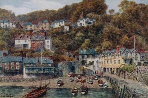 Clovelly from the Quay by Alfred Robert Quinton