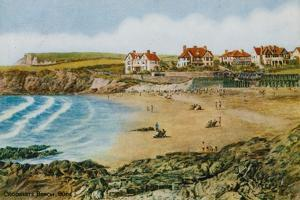 Crooklets Beach, Bude by Alfred Robert Quinton