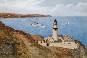 Douglas Head Lighthouse, Isle of Man by Alfred Robert Quinton