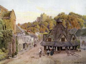 Dunster, Somerset by Alfred Robert Quinton