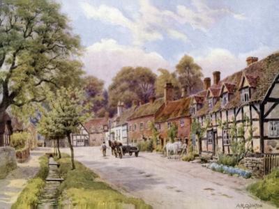 Elmley Castle, Worcester by Alfred Robert Quinton