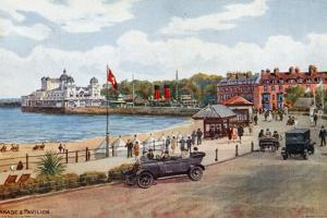 Esplanade and Pavilion, Weymouth by Alfred Robert Quinton