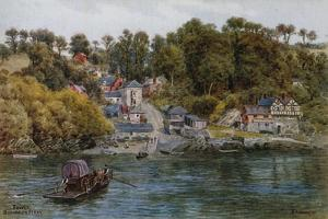 Fowey, Bodinnick Ferry by Alfred Robert Quinton