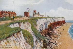 Hunstanton, the Cliffs and Lighthouse by Alfred Robert Quinton