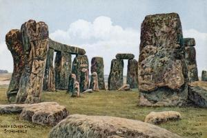 Inner and Outer Circle, Stonehenge by Alfred Robert Quinton